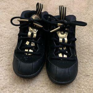 Toddler Nike Black Foamposites